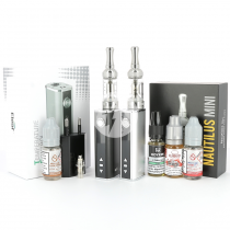 Kit Istick TC 40W Mini Nautilus + 4 e-liquides