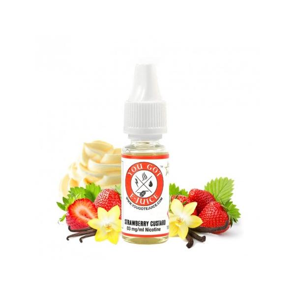Strawberry Custard You Got E-Juice