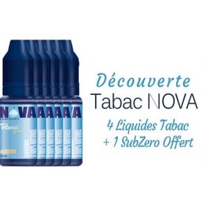 Pack Découverte Tabac Nova