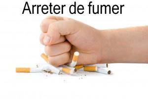 Un coup de point sur un paquet de cigarette