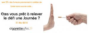 Journée mondiale sans tabac oms 2014