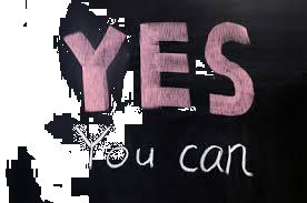 L'important est de se dire que oui vous pouvez le faire!
