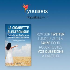 Philippe Presles cigarette électronique journée mondiale sans tabac