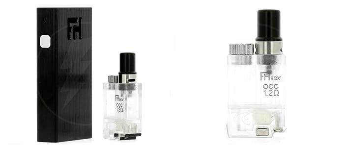 Le kit FH Box est une cigarette électronique de type pod.