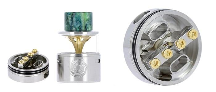 Le Thermo RDA de Innokin est un atomiseur reconstructible pour cigarette électronique de type dripper.