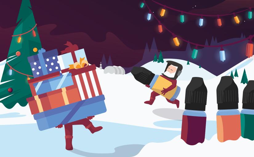 Top 5 des meilleures idées cadeaux de Noël pour un vapoteur