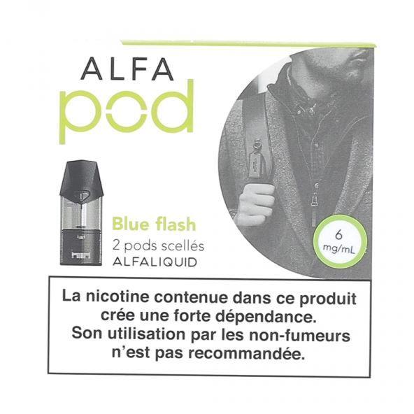Les cartouches pré-remplies Alfapod sont disponibles dans de nombreuses saveurs.