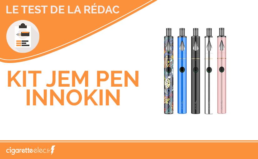 Test produit : le kit Jem Pen d'Innokin