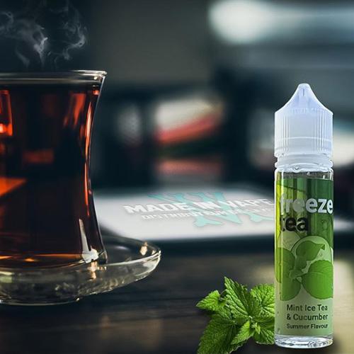 freeze tea concombre