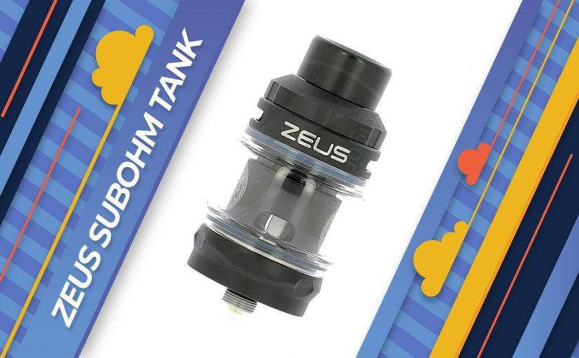 Test Zeus Subohm Tank de Geek Vape