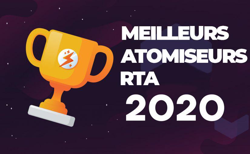 MEILLEURS ATOMISEURS RECONSTRUCTIBLES RTA 2020