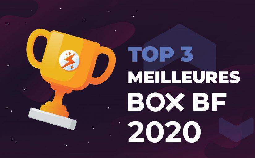TOP 3 Meilleures Box BF 2020
