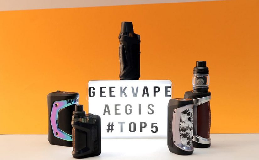 TOP 5 AEGIS (KITS & BOX) GEEKVAPE