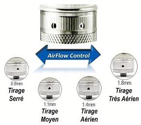 Découvrez comment fonctionne le système Air flow de votre Aspire Mini-nautilus ?