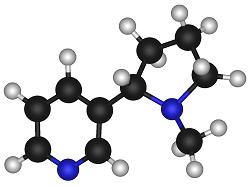 Molécule de la Nicotine