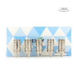 Pack de 5 résistance EC head Eleaf