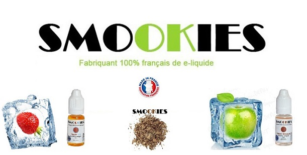 E-liquide Smookies made in France