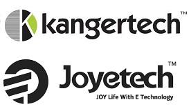 Logo des deux leaders de la conception et de la fabrication de la e-cigarette