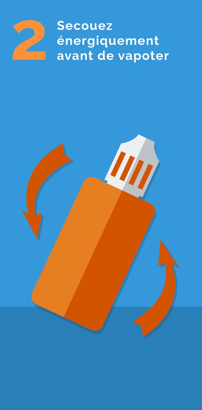 Comment ajouter de la nicotine à votre liquide grand format - étape 2