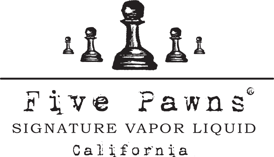 e-liquide five pawns california