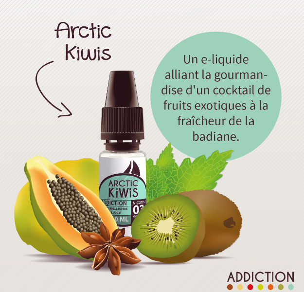 e-liquide arctic kiwis addiction