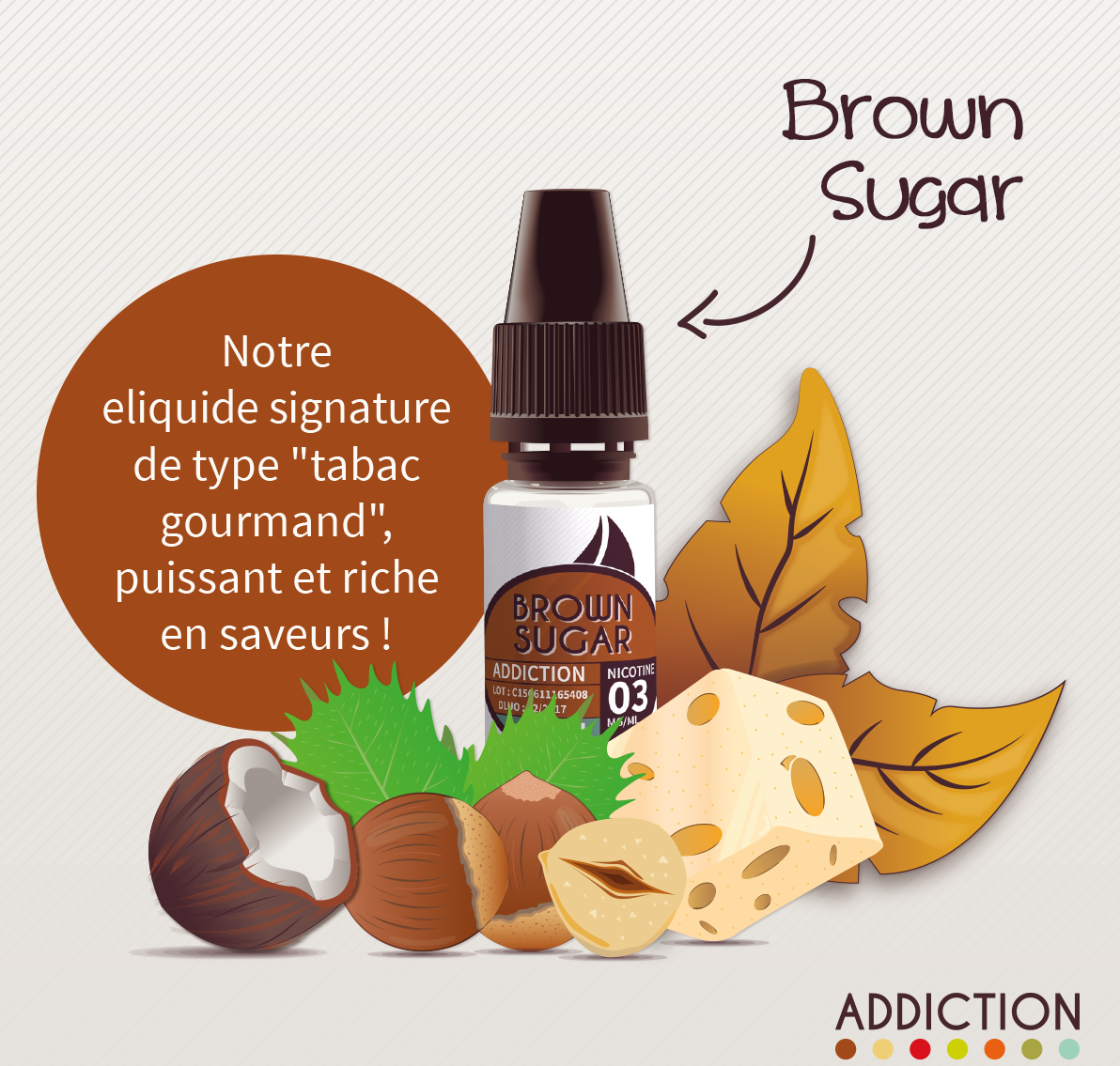 e-liquide brown sugar addiction