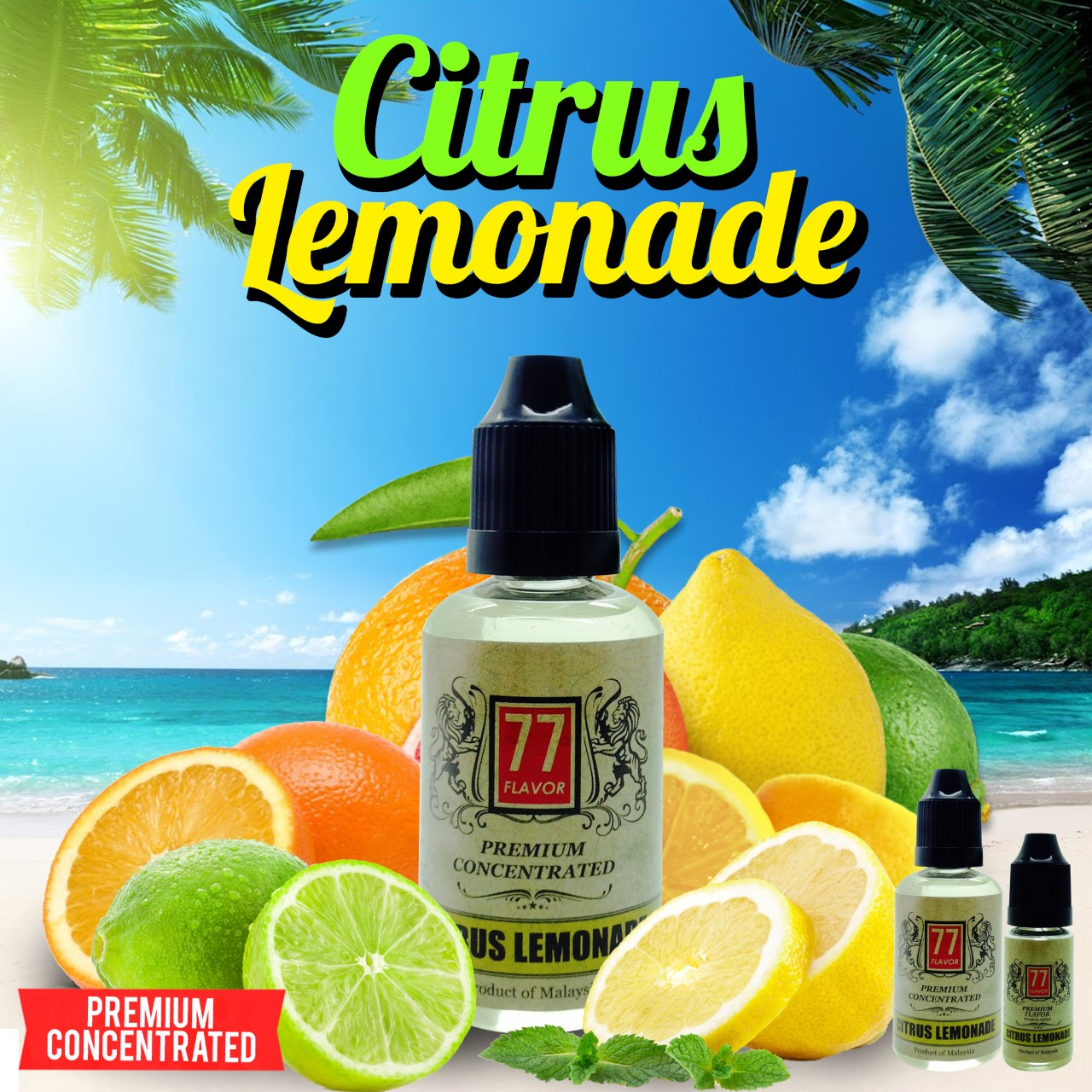 concentre citrus lemonade 77 flavor