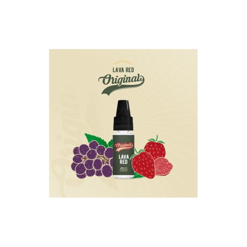 e-liquide lava red fifty