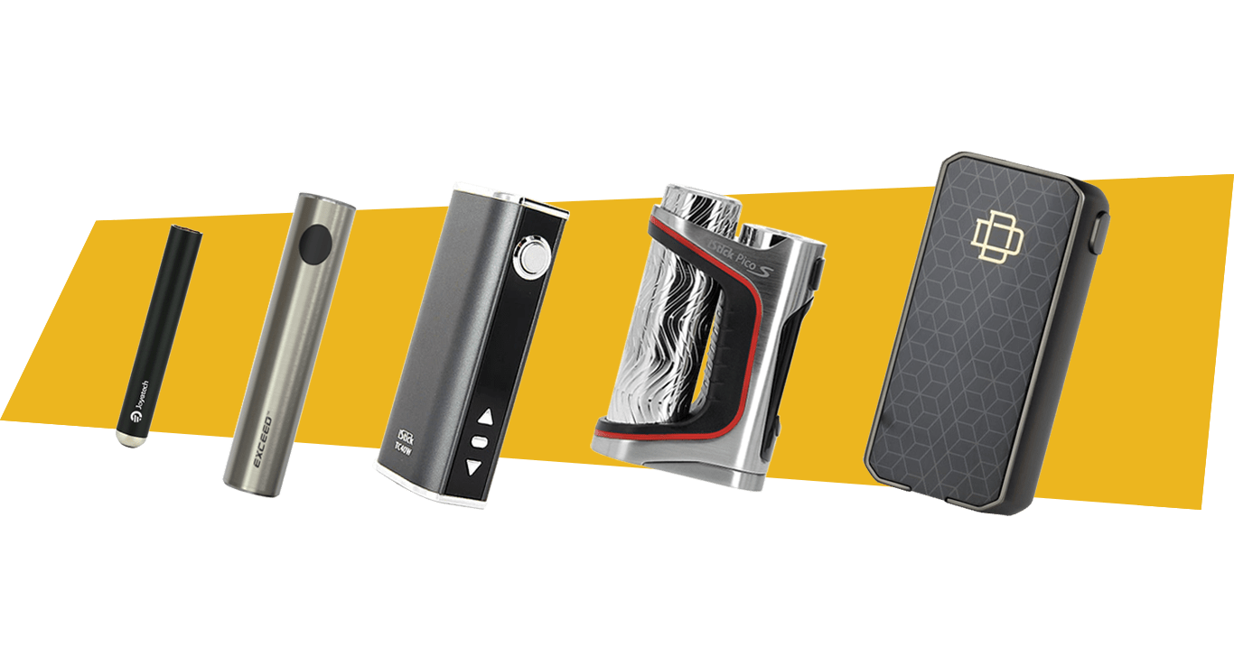 Comparaison entre différentes tailles de batteries de cigarette électronique