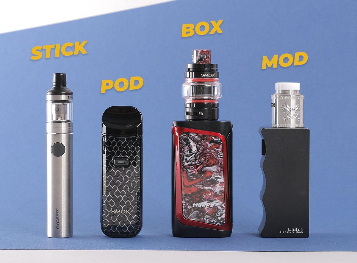 Les différents types de cigarette électronique